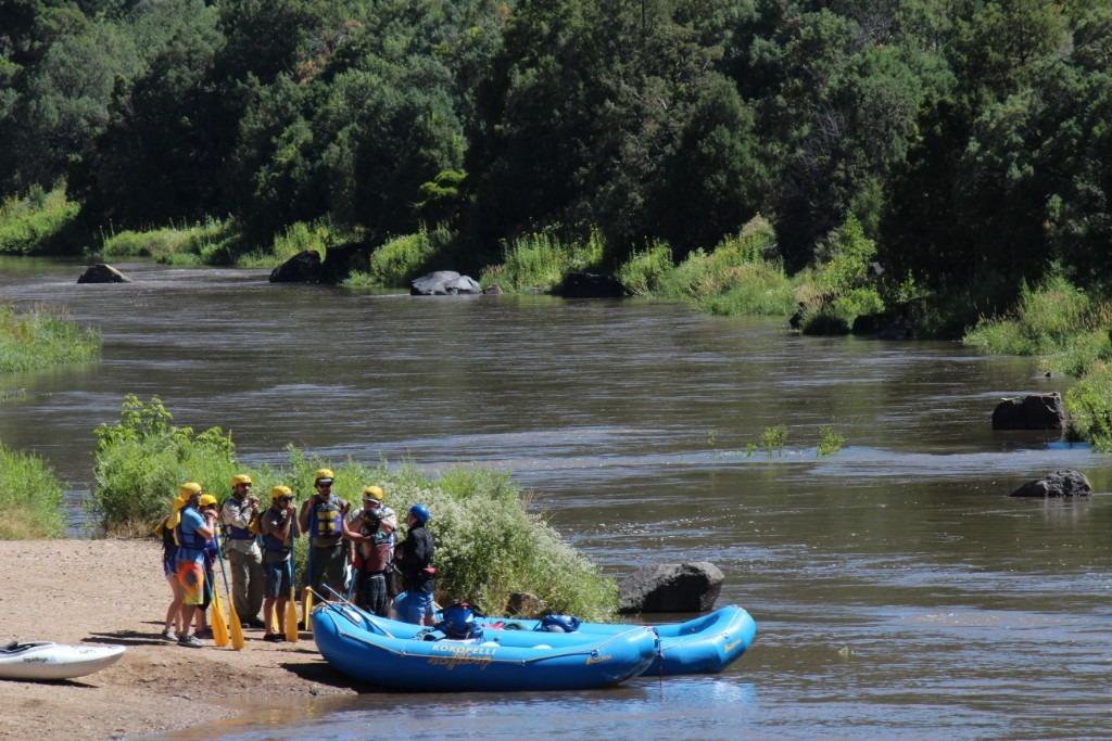 John Dunn Bridge Rio Grande Kokopelli Rafting New Mexico