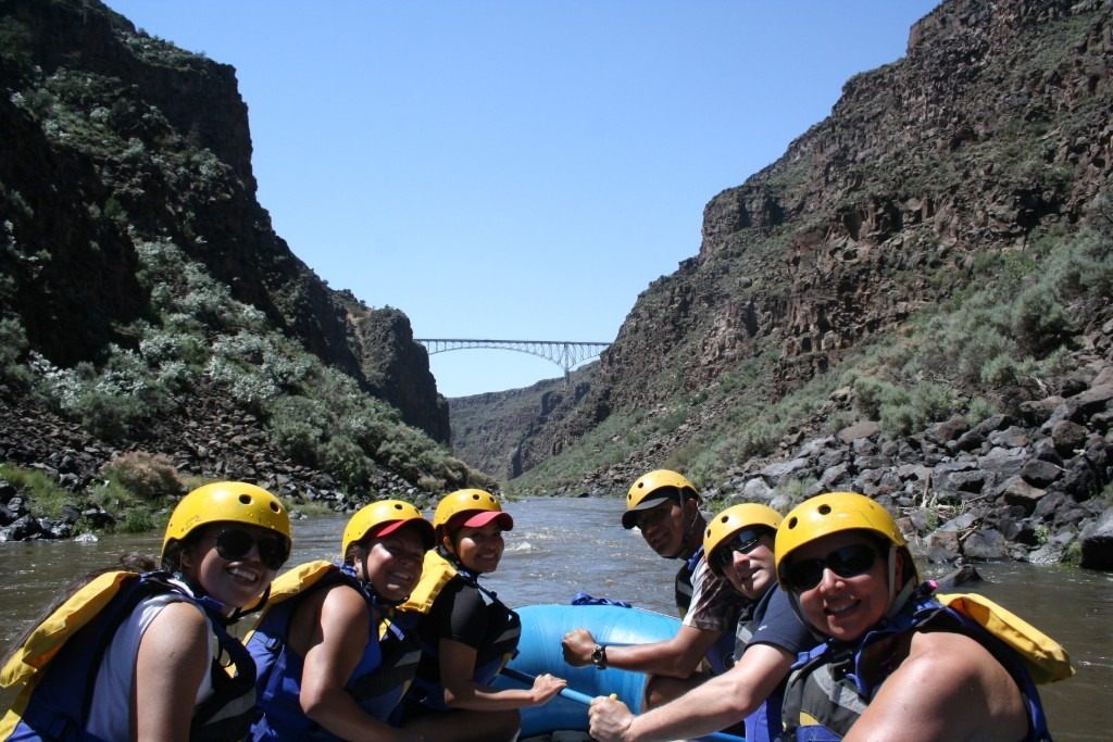 Rafting Rio Grande Gorge Bridge Taos New Mexico