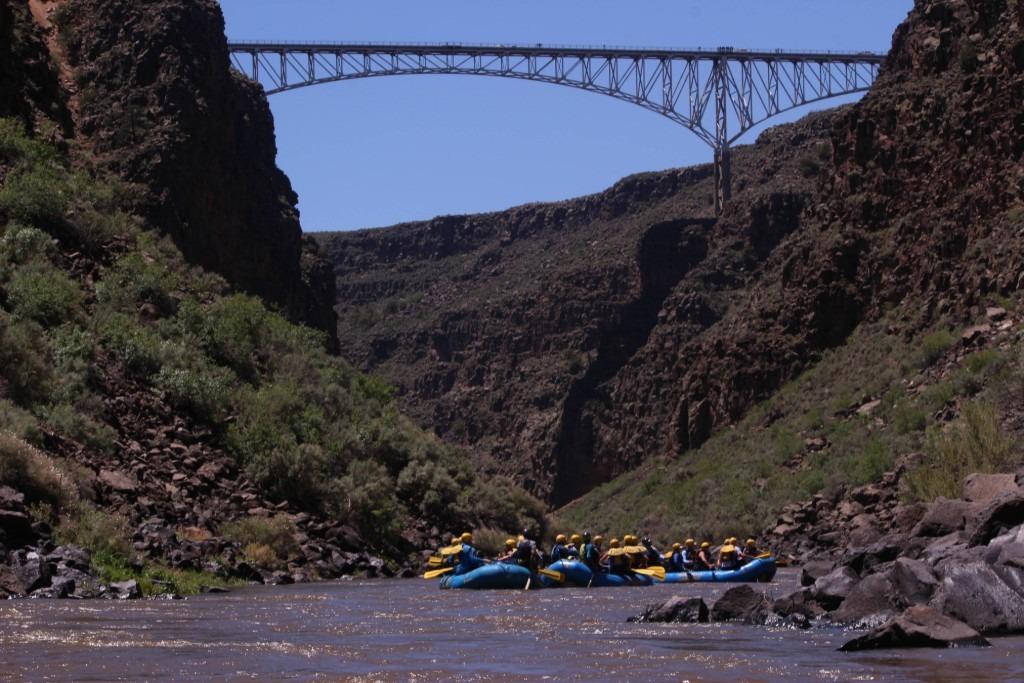 Rio Grande Gorge Bridge on the Taos Box