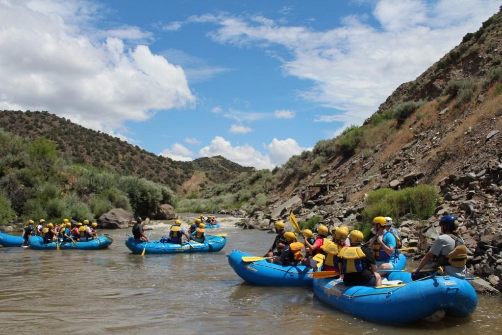 Souse hole Rio Grande Racecourse rafting Taos Santa Fe New Mexico