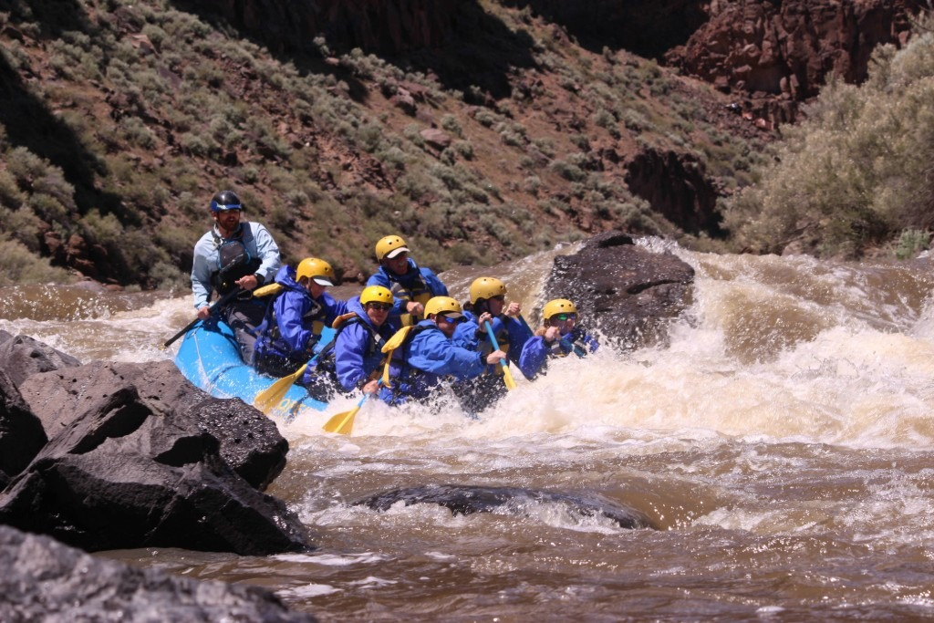 Whitewater rafting Taos Box - Pinball Rapid