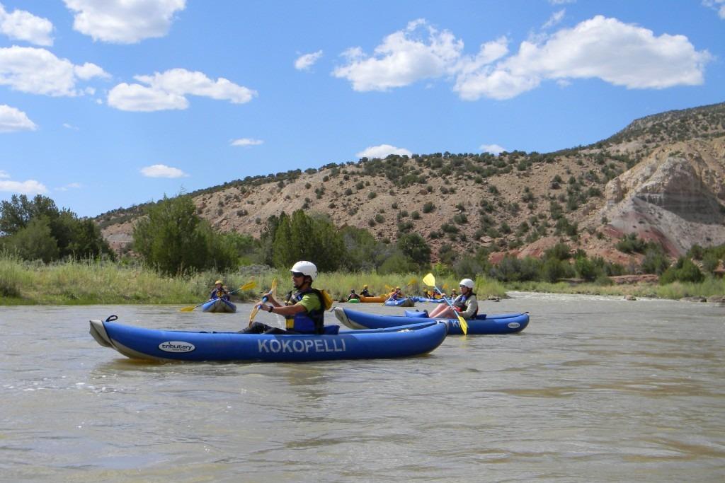 Inflatable Kayaks on the Chama