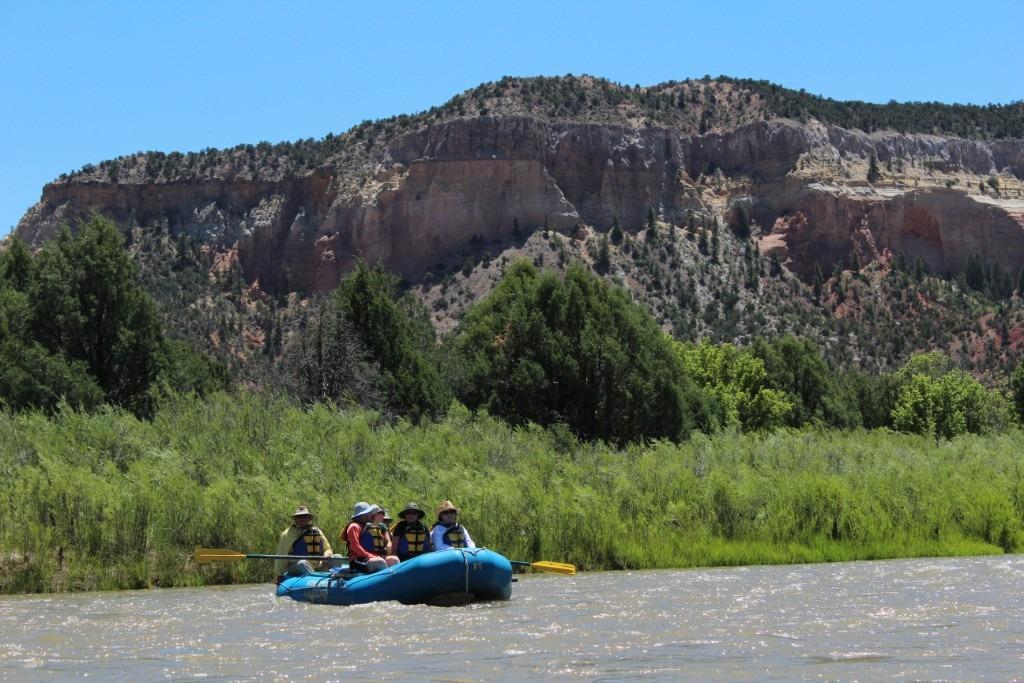 Rio Chama rafting